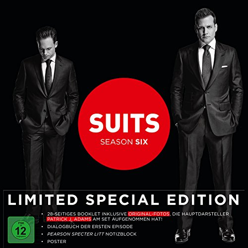 Suits Staffel 6 (Limited Fan-Edition) (4 DVDs)
