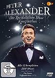 """Peter Alexander: Die Spezialitäten Show - Komplettbox (plus """"Treffpunkt Herz"""") (7 DVDs)"""