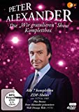 "Peter Alexander: Die ""Wir gratulieren"" Show - Komplettbox (plus ""Walt Disneys Welt"") (4 DVDs)"