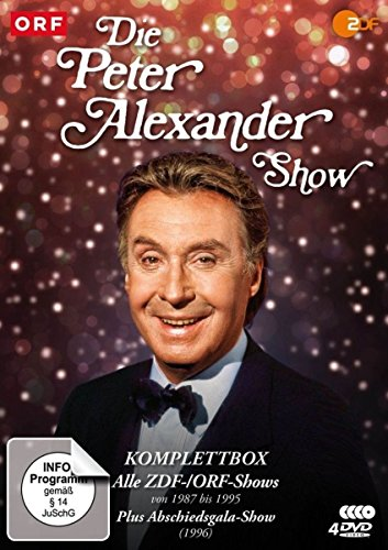 Die Peter Alexander Show Komplettbox (Alle ZDF-Shows von 1987-1995 plus Abschiedsgala) (6 DVDs)