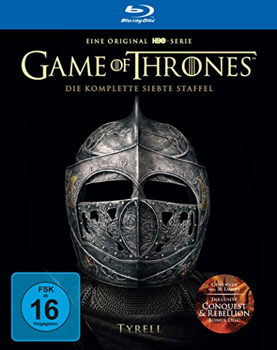 Game of Thrones Staffel 7 (Limited Edition Steelbook + Bonus Disc) (exklusiv bei Amazon.de) [Blu-ray]