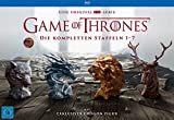 Game of Thrones - Staffel 1-7 (Limited Edition mit Drogon Figur + Bonus Discs + Fotobuch + Conquest & Rebellion) [Blu-ray]