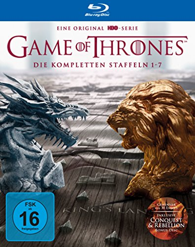Game of Thrones Staffel 1-7 (Digipack + Bonus Discs + Fotobuch) [Blu-ray]