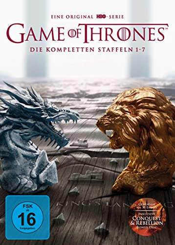 Game of Thrones Staffel 1-7 (Digipack + Bonus Discs + Fotobuch)
