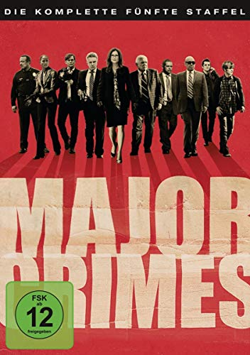 Major Crimes Staffel 5 (5 DVDs)