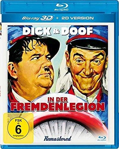 Dick & Doof In der Fremdenlegion [3D Blu-ray]