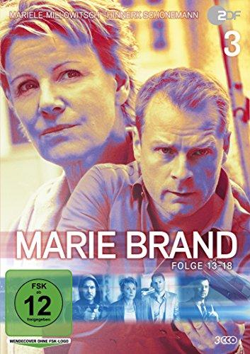 Marie Brand, Vol. 3 (Folge 13-18) (3 DVDs)