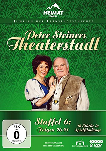 Peter Steiners Theaterstadl Staffel 6 (8 DVDs)