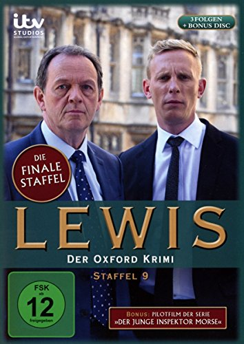 """Lewis - Der Oxford Krimi Staffel 9 (+ Pilotfilm """"Der junge Inspektor Morse"""") (4 DVDs)"""
