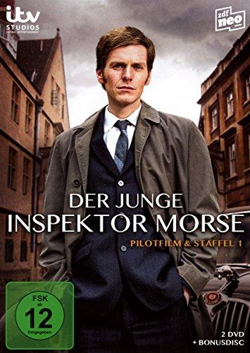 Der junge Inspektor Morse Pilotfilm & Staffel 1 (3 DVDs)