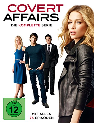 Covert Affairs Die komplette Serie (20 DVDs)