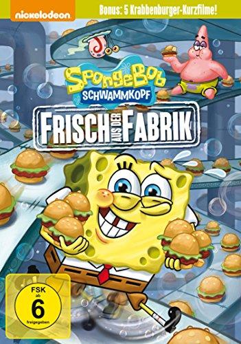 Spongebob Schwammkopf Frisch aus der Fabrik