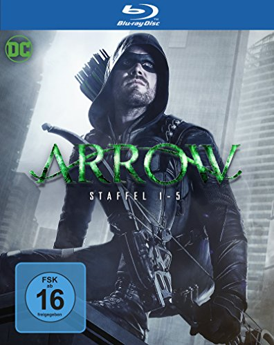 Arrow Staffel 1-5 (Limited Edition) (exklusiv bei Amazon.de) [Blu-ray]