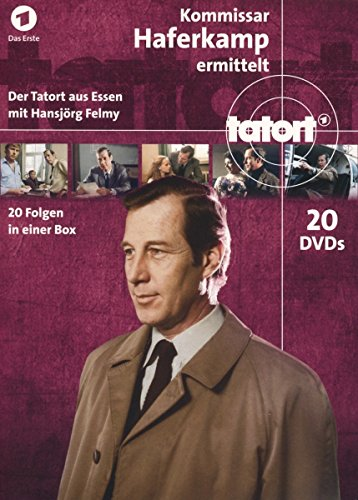 Tatort Kommissar Haferkamp Komplettbox (20 DVDs)