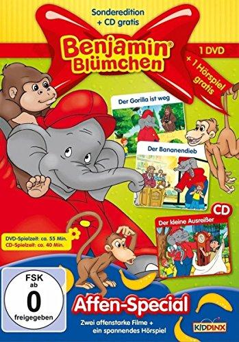 Benjamin Blümchen: Affen-Special (+ Hörspiel-CD)
