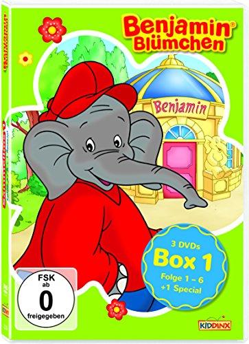 Benjamin Blümchen Box 1 (3 DVDs)