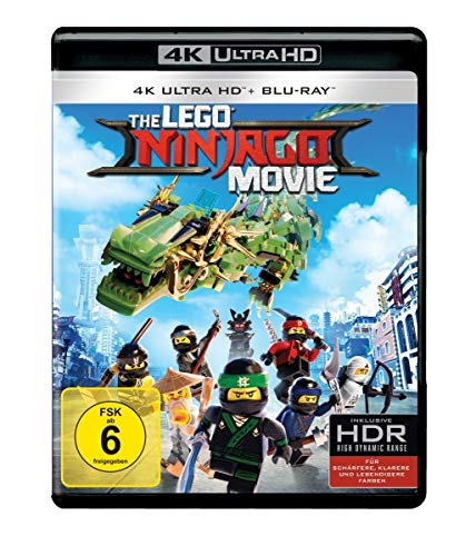 The LEGO Ninjago Movie (4K Ultra HD) [Blu-ray]