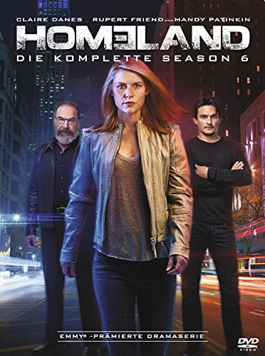 Homeland Season 6 (4 DVDs)