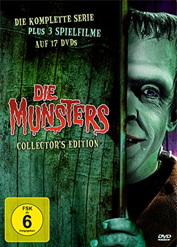 Die Munsters Gesamtbox (exklusiv bei Amazon) (17 DVDs)