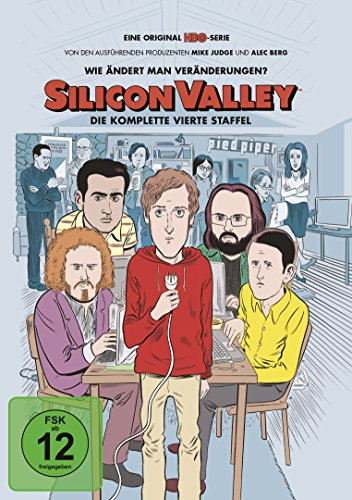 Silicon Valley Staffel 4 (2 DVDs)