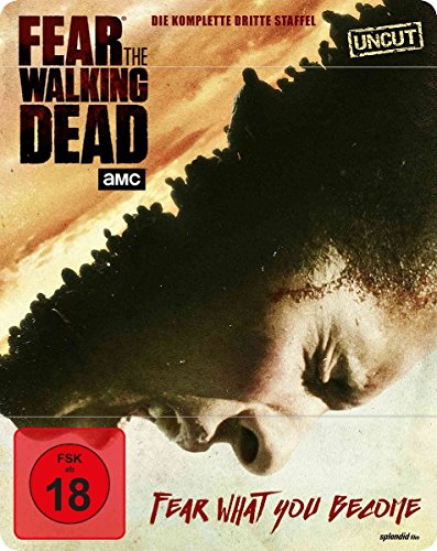 Fear the Walking Dead Staffel 3 (Uncut) (Steelbook) [Blu-ray]