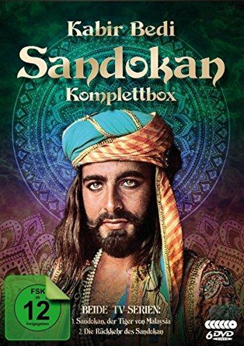 Sandokan Komplettbox (Der Tiger von Malaysia & Die Rückkehr des Sandokan) (6 DVDs)