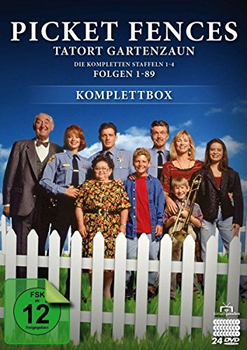 Picket Fences - Tatort Gartenzaun: Komplettbox (24 DVDs)