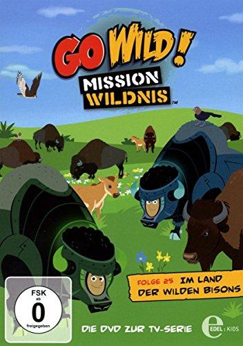 Go Wild! - Mission Wildnis, Vol.25: Im Land der wilden Bisons