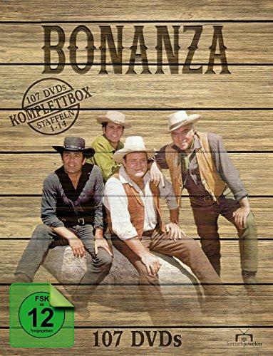 Bonanza Komplettbox / Staffel 1-14 (107 DVDs)