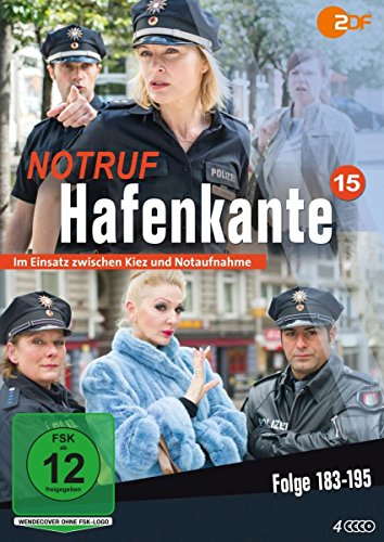 Notruf Hafenkante, Vol.15: Folge 183-195 (4 DVDs)