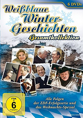 Weißblaue Wintergeschichten Gesamtkollektion (6 DVDs)