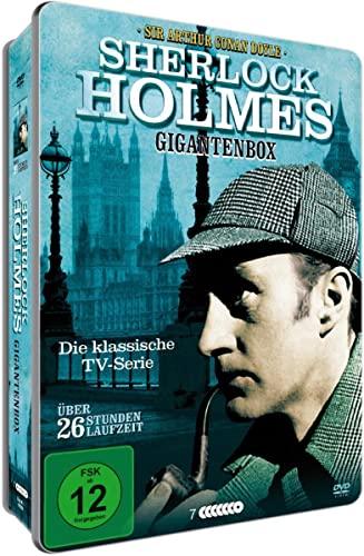 Sherlock Holmes Gigantenbox: Die klassische TV-Serie (teilw. OmU) (7 DVDs)