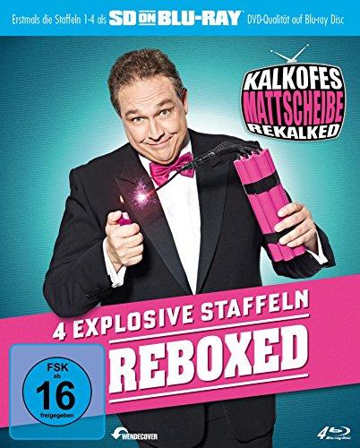 Kalkofes Mattscheibe: Rekalked! Reboxed! (Staffel 1-4) [Blu-ray]