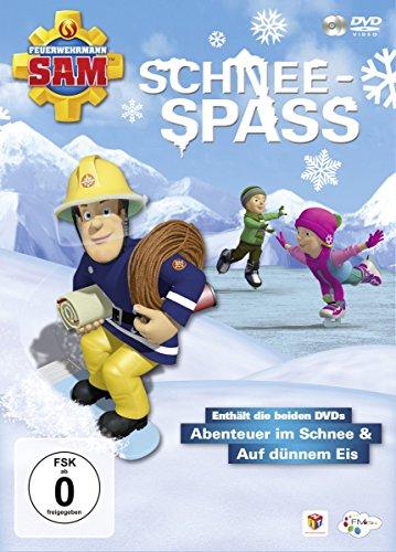 Feuerwehrmann Sam Schneespaß (inkl. Abenteuer im Schnee & Auf dünnem Eis) (2 DVDs)