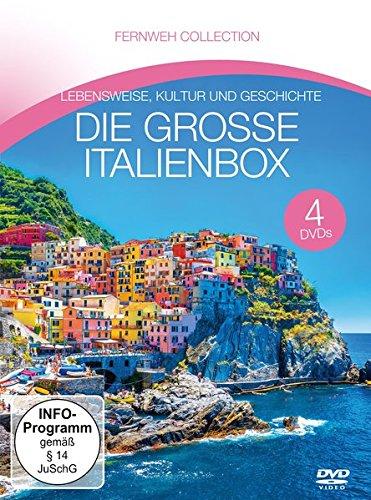 Fernweh Collection - Die große Italienbox (4 DVDs)