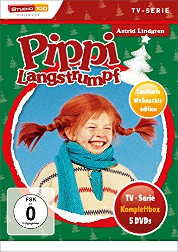 Pippi Langstrumpf  TV-Serien-Box (Special Edition) (5 DVDs)
