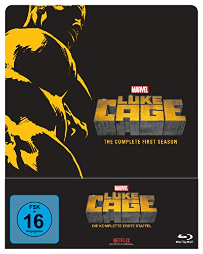 Marvel's Luke Cage Staffel 1 (Steelbook) [Blu-ray]