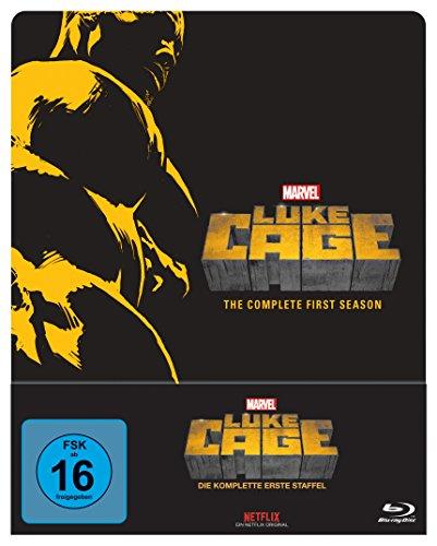 Marvel's Luke Cage - Staffel 1 (Steelbook) [Blu-ray]