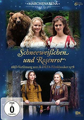 Schneeweißchen und Rosenrot Doppeledition (ARD-Verfilmung 2012 & DEFA-Klassiker 1978) (2 DVDs)