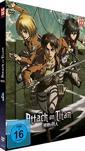 Attack on Titan Vol. 4 (Limited Edition)