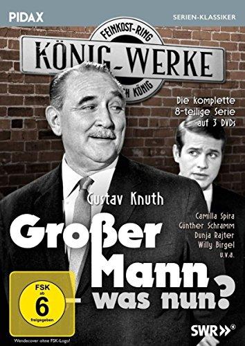Großer Mann - was nun? Die komplette Serie (3 DVDs)
