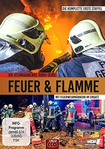 Feuer & Flamme - Mit Feuerwehrmännern im Einsatz 3 DVDs