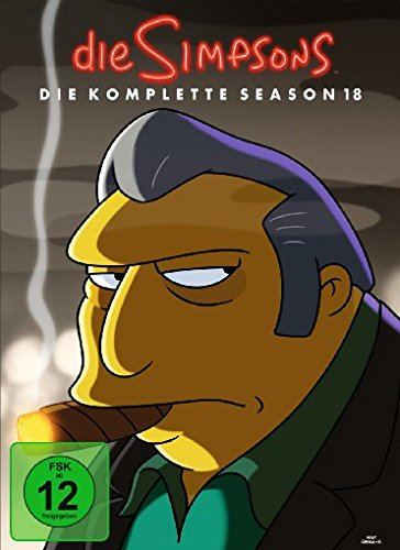 The Simpsons Season 18 (4 DVDs)
