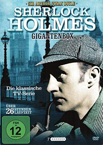 Sherlock Holmes DVD Box - Die TV-Serie + 9 Spielfilme