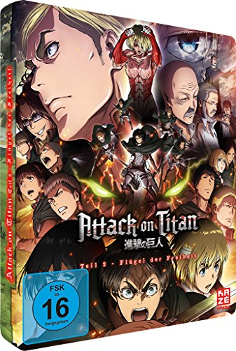 Attack on Titan Anime Movie Teil 2: Flügel der Freiheit (Limited Edition Steelcase) [Blu-ray]
