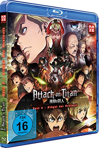 Attack on Titan Anime Movie Teil 2: Flügel der Freiheit [Blu-ray]