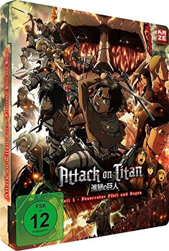 Attack on Titan Teil 1: Feuerroter Pfeil und Bogen (Steelcase) [Blu-ray]