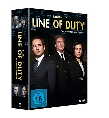 Line of Duty - Cops unter Verdacht: Staffel 1-4 (9 DVDs)