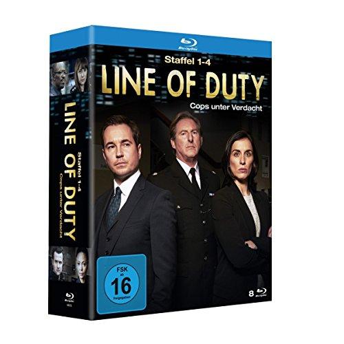 Line of Duty - Cops unter Verdacht: Staffel 1-4 [Blu-ray]