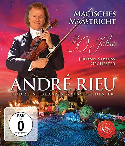André Rieu - Magisches Maastricht - 30 Jahre Johann Strauss Orchester [Blu-ray]